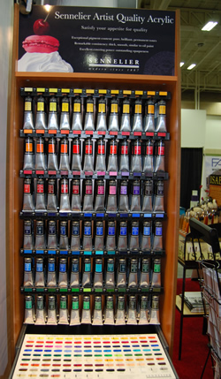 New Sennelier Professional Acrylic Paints!