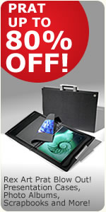 Rex Art Prat Blowout!  Save at least 50% to 80% off!