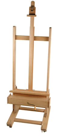 Save 68% on the Jack Richeson Beechwood Crank Easel Set at Rex Art!