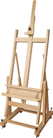Save 64% on the Jack Richeson Beechwood Platform Easel Set at Rex Art!