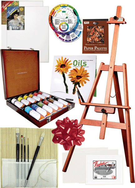 The Rex Art Oil Painting Gift Set - Everything you need to give a fantastic gift!