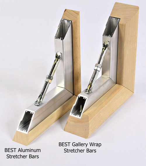 Best Aluminum and Gallery Wrap Stretcher Bars