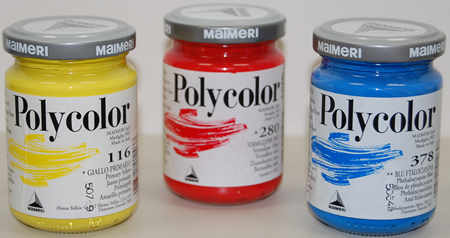 Polycolor Acrylics from Maimeri