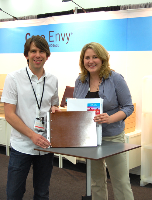 Jason and Brooke show off the new Case Envy Book!