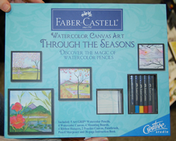 New Faber Castell Watercolor Set