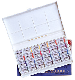 Get a FREE 24 Pan St. Petersburg watercolor set when you order a Richeson Lyptus easel from Rex Art!