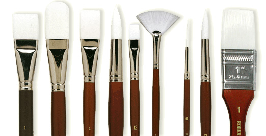 Rex Art 60th Anniversary Celebration! Take up to 60% off Robert Simmons White Sable Brushes!