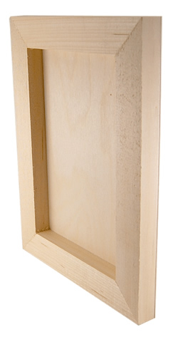 Cradled Wood Artist Panels - 7/8 inches Deep now available at Rex!