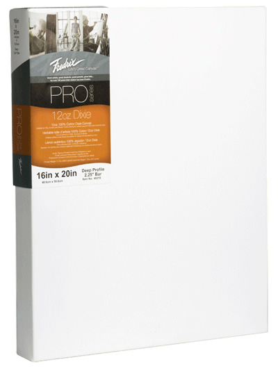 Rex Art Supplies Launches Fredrix Pro Series Canvases - Save 10% Extra!