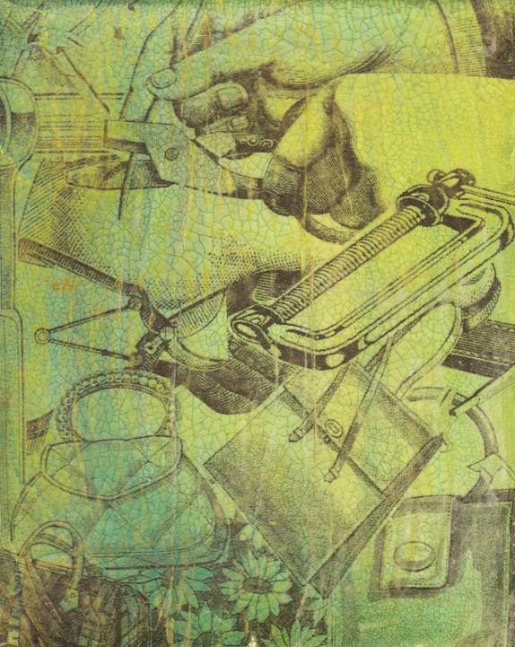 Acrylic Transfer Technique