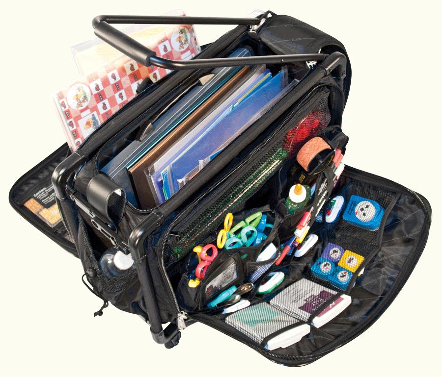 Tutto Storage On Wheels Medium Tote Bag With Interior