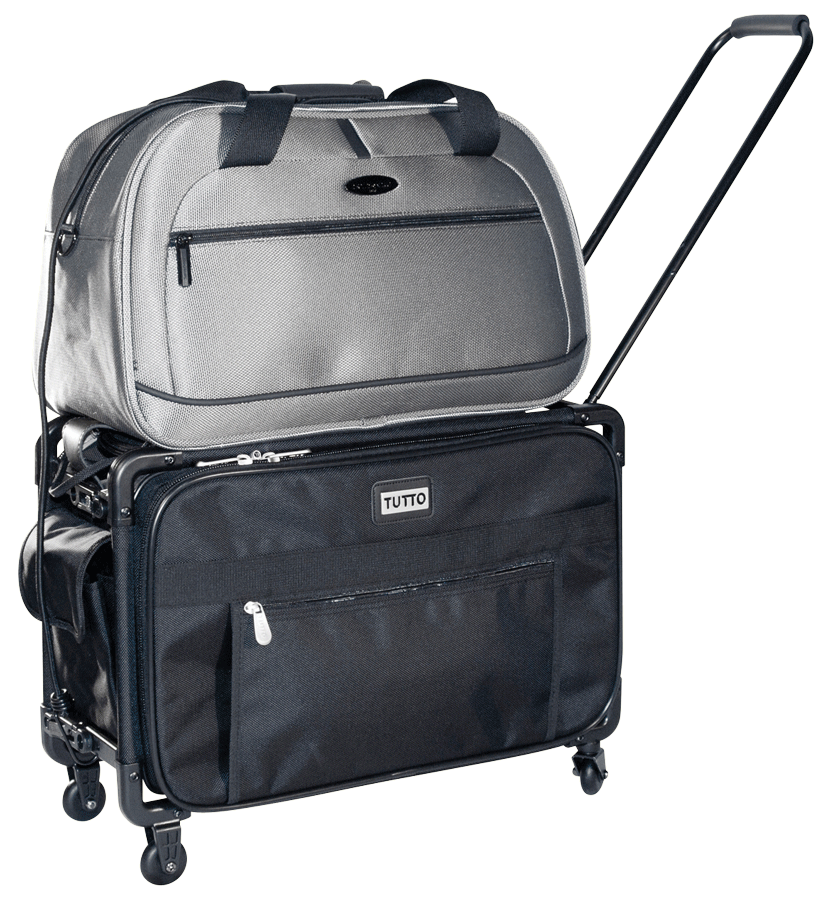 tutto storage on wheels large tote bag with interior pockets rex art supplies. Black Bedroom Furniture Sets. Home Design Ideas
