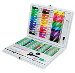 Royal & Langnickel Art Adventure 120 Piece Art Set