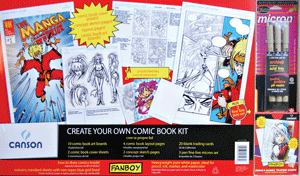 Canson Fanboy Create Your Own Comic Book Kit