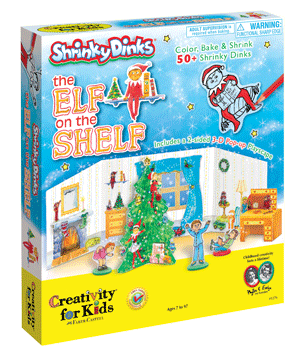Creativity for Kids Shrinky Dinks The Elf on the Shelf Kit