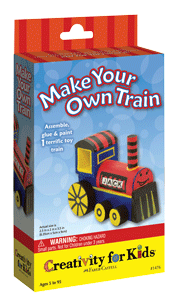 Creativity for Kids Make Your Own Train Mini Kit