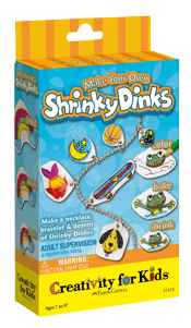Creativity for Kids Make Your Own Shrinky Dinks Mini Kit