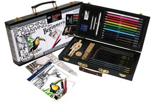 Royal & Langnickel Sketching & Drawing for Beginners Set
