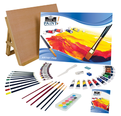 Royal & Langnickel Learn To Paint Set 59Pc