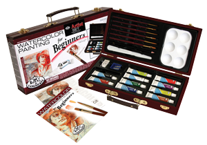 Royal & Langnickel Watercolor Painting for Beginners Set