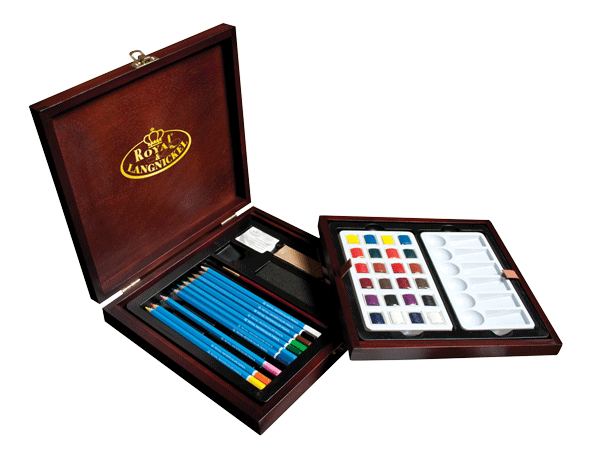 Royal & Langnickel Premier Watercolor Pencil Set