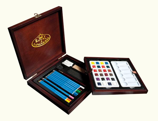 Royal & Langnickel Premier Watercolor Pencil Set