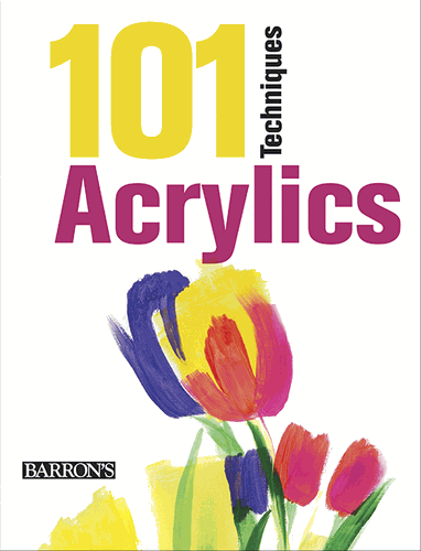 Barrons 101 Techniques Acrylic