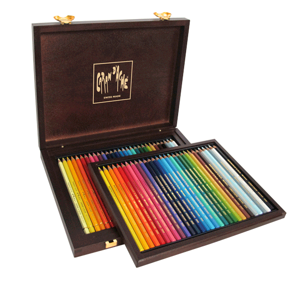 Caran dAche Pencil Set of 30 Pablo + 30 Supracolor