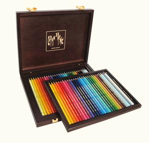 Caran dAche Pencil Set of 30 Pablo + 30 Supracolor