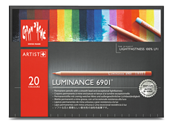 Caran dAche Luminance Lightfast Pencil Set of 20