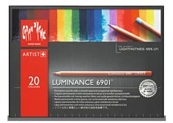 Caran dAche Luminance Lightfast Pencil Set of 20