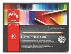Caran dAche Luminance Lightfast Pencil Set of 40