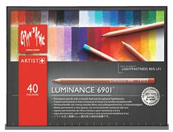 Caran dAche Luminance Lightfast Pencil Set of 40