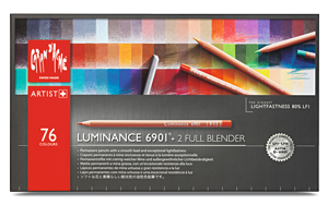 Caran dAche Luminance Lightfast Pencil Set of 76