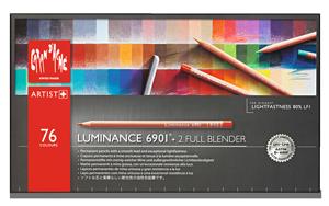 Caran dAche Luminance Lightfast Pencil Set of 76