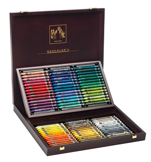 Caran dAche Classic Neocolor II Water-soluble Pastel Set of 84