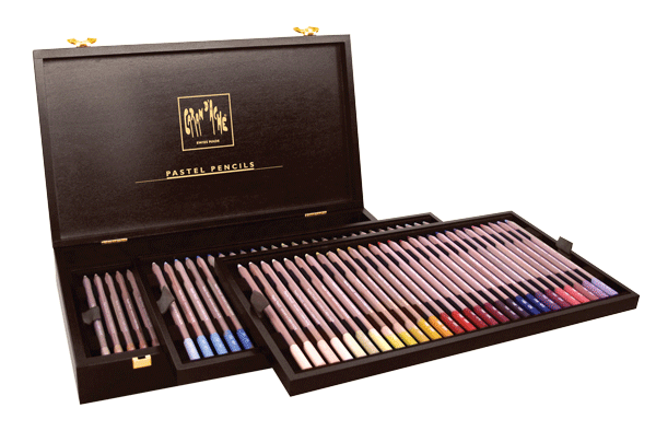 Caran dAche Pastel Pencil Set of 84