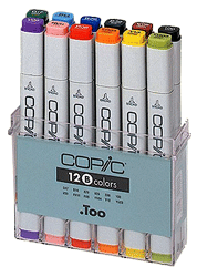 Copic Original Marker 12 Color Set C
