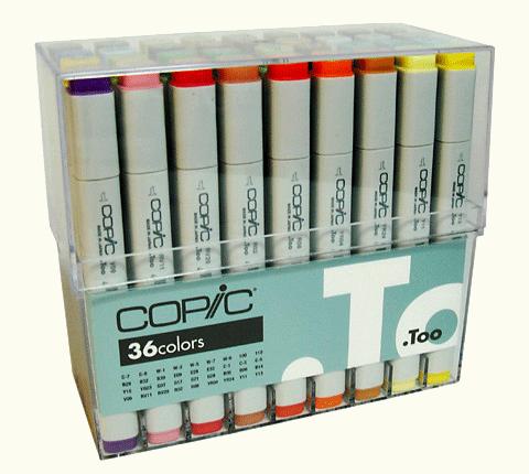 Copic Original Marker 36 Color Set C
