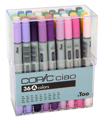 Copic Ciao Marker 36 Color Set A