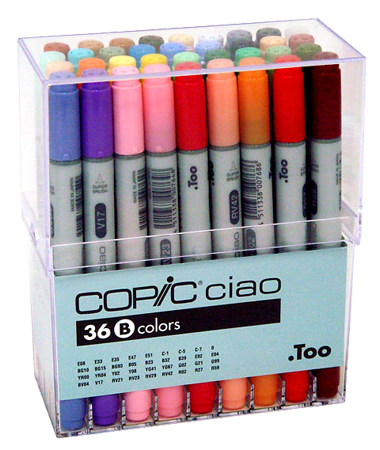 Copic Ciao Marker 36 Color Set B