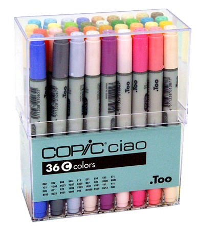 Copic Ciao Marker 36 Color Set C