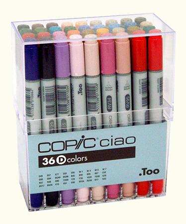 Copic Ciao Marker 36 Color Set D