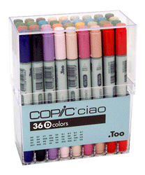 Copic Ciao Marker 36 Color Set D