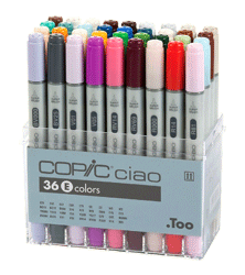Copic Ciao Marker 36 Color Set E