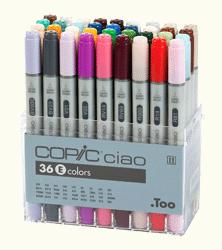 Copic Ciao Marker 36 Color Set E