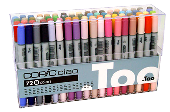 Copic Ciao Marker 72 Color Set B