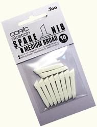 Copic Replacement Nib, Sketch Medium Broad, Pack of 10