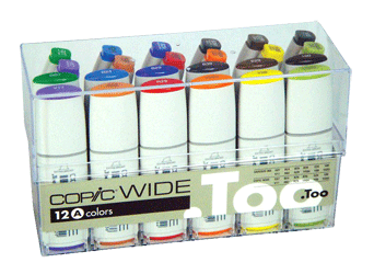 Copic Wide Marker 24 Color Set A