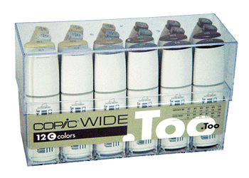 Copic Wide Marker 24 Color Set C